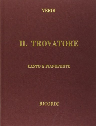 9780634072673: Il Trovatore: Verdi - Cloth - It