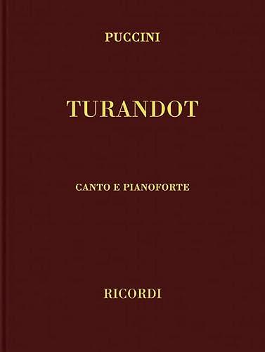 9780634072680: Turandot: Vocal Score