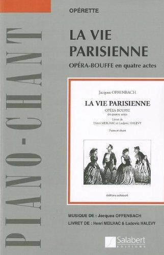 9780634072796: La Vie Parisienne: Vocal Score