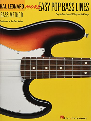 9780634073533: More Easy Pop Bass Lines: Supplemental Songbook to Book 2 of the Hal Leonard Bass Method
