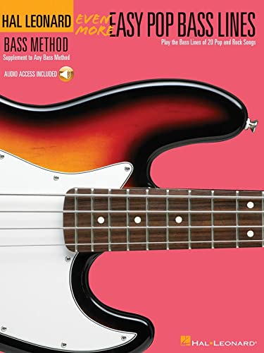 9780634073540: Even More Easy Pop Bass Lines: Supplemental Songbook to Book 3 of the Hal Leonard Bass Method