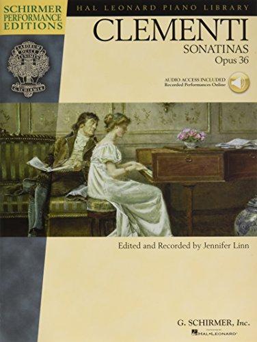 9780634073625: Muzio Clementi: Sonatinas Op.36: Sonatinas Opus 36 (Schirmer Performance Editions)