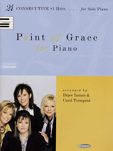 9780634073687: Point of Grace for Piano: 24 Consecutive #1 Hits for Solo Piano (Sacred Folio)