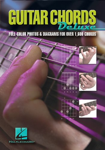 9780634073892: Guitar Chords Deluxe: Full-Color Photos & Diagrams for Over 1,600 Chords