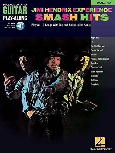 9780634074059: Jimi Hendrix Experience - Smash Hits: Guitar Play-Along Volume 47 Book & Online Audio (Hal Leonard Guitar Play-Along)
