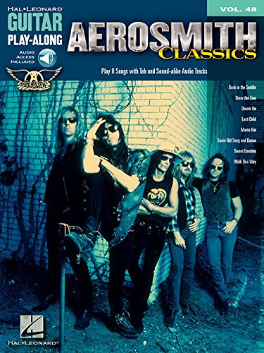 9780634074073: Aerosmith Classics - Guitar Play-Along Volume 48 (Bk/Online Audio)