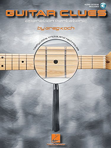 9780634074141: GUITAR CLUES BK/CD OPERATION PENTATONIC