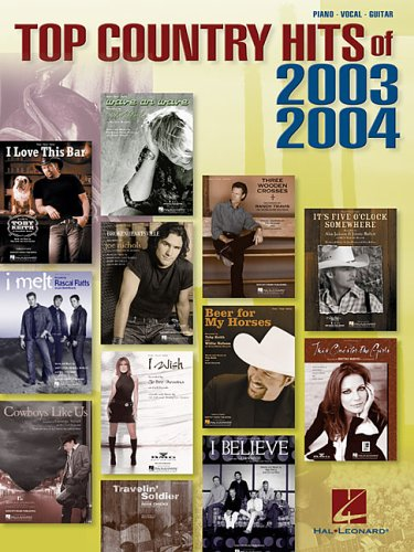 9780634074196: Top Country Hits of 2003-2004