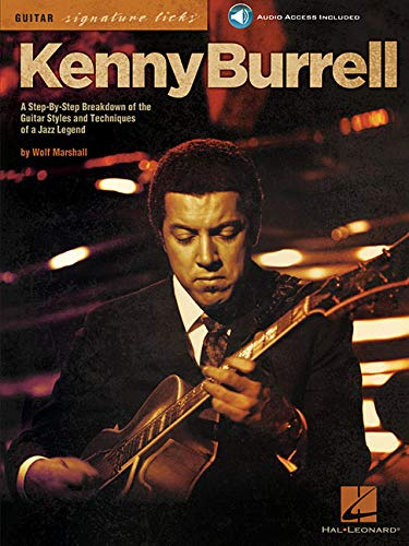 9780634074431: Kenny Burrell (Guitar Signature Licks)