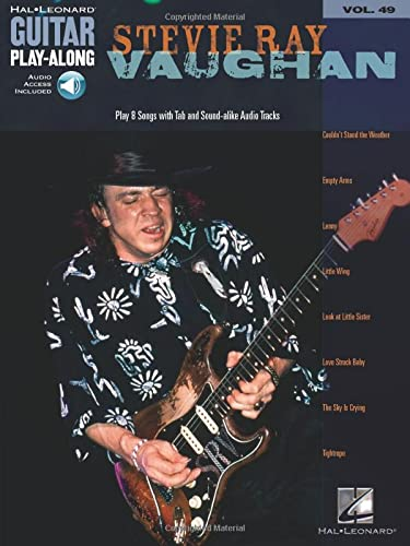9780634074523: Guitar Play-Along Volume 49: Stevie Ray Vaughan (Book/Online Audio): Pt. 49