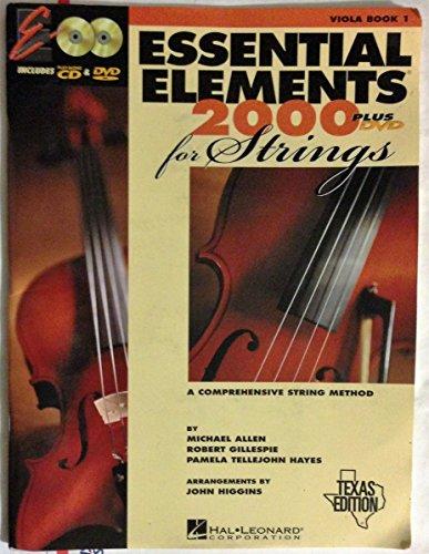 9780634074578: Essential Elements 2000 Plus DVD for Strings Viola Book 1