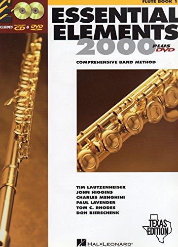 9780634074868: Essential Elements 2000: Comprehensive Band Method (Flute Book 1) Texas Edition