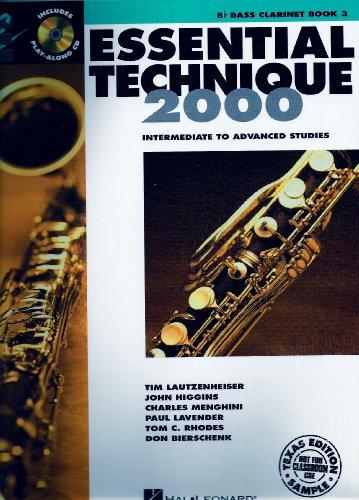 9780634075889: Essential Technique 2000- Bass Clarinet Book 3