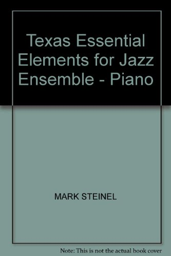 9780634076299: Texas Essential Elements for Jazz Ensemble - Piano