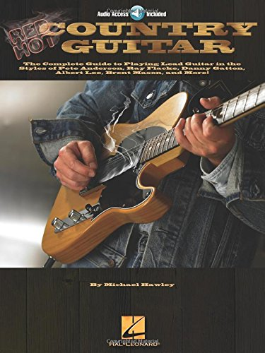 9780634076404: Red Hot Country Guitar (Guitar Signature Licks)
