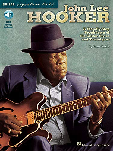 John Lee Hooker: Signature Guitar Licks (Paperback)