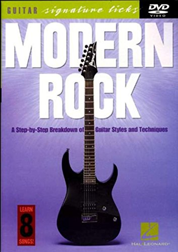9780634077470: Modern Rock: A Step-By-Step Breakdown of Guitar Styles and Techniques (Guitar Signature Licks)