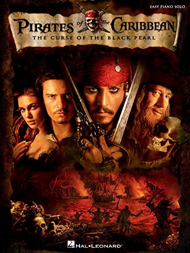 9780634077678: Pirates of the Caribbean:the Curse of the Black... Piano: The