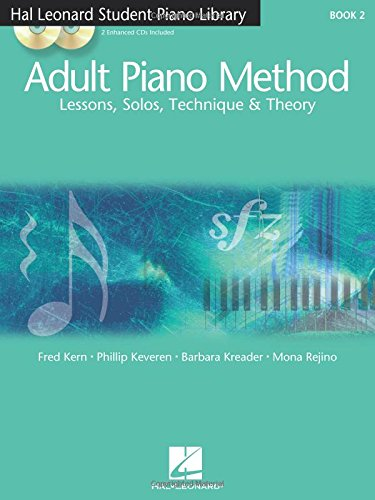 9780634077807: Adult Piano Method - Book 2: Lessons, Solos, Technique, & Theory (Hal Leonard Student Piano Library)