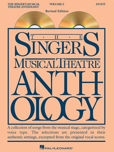 9780634078583: The Singer's Musical Theatre Anthology - Volume 2: Duets Accompaniment CDs (Singer's Musical Theatre Anthology (Accompaniment))