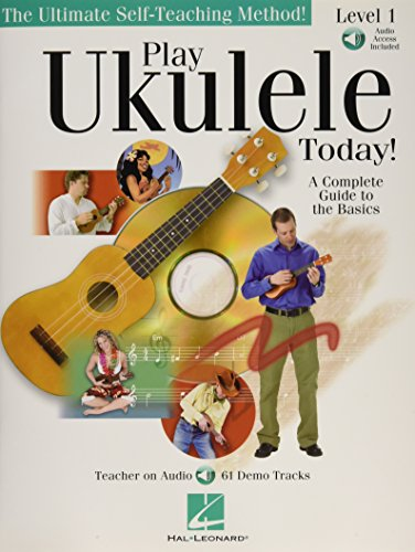 9780634078613: Play Ukulele Today!: Level 1- A Complete Guide to the Basics-Tutor Music (Book/Online Audio) (Includes Online Access Code)