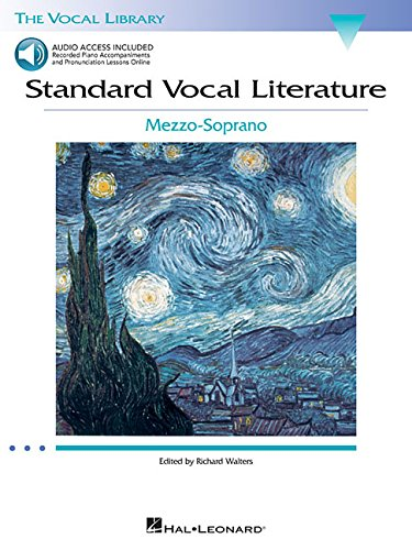 9780634078743: Standard Vocal Literature - An Introduction to Repertoire: Mezzo-Soprano (Vocal Library) Bk with online audio