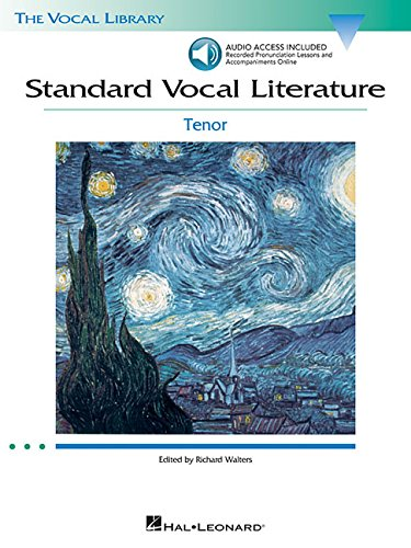 9780634078750: Standard Vocal Literature - An Introduction to Repertoire: Tenor (Vocal Library)
