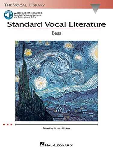 9780634078774: Standard Vocal Literature - An Introduction to Repertoire: Bass