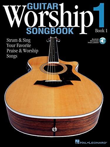9780634078965: Guitar Worship Songbook, Book 1: Strum & Sing Your Favorite Praise & Worship Songs Bk/online audio