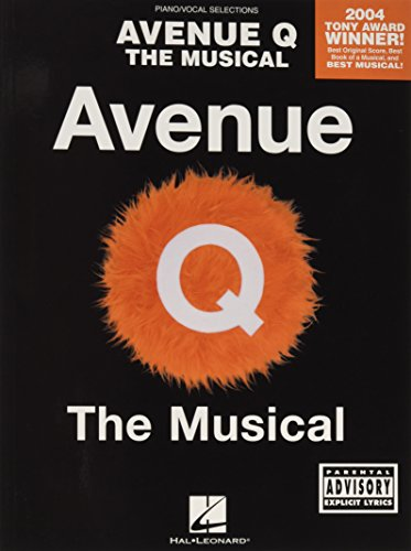 9780634079191: Avenue Q: The Musical-Piano Vocal Selections (Pinao Vocal Selections)
