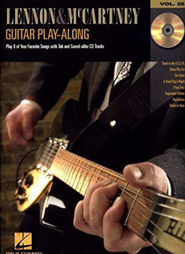 9780634079221: Lennon and McCartney: Guitar Play-Along Volume 25