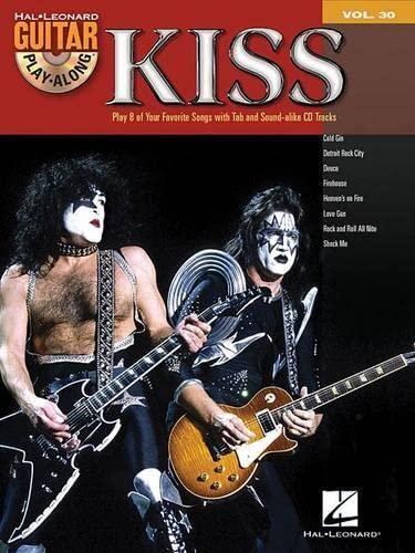 9780634079245: KISS: Guitar Play-Along Volume 30 Bk/Online Audio