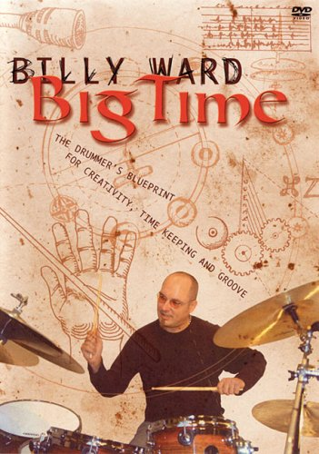 BILLY WARD - BIG TIME DRUM DVD Format: DVD