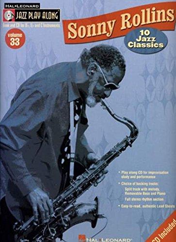 9780634079887: Sonny Rollins: Jazz Play-Along Volume 33: 10 Jazz Classics