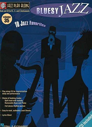 9780634079900: Jazz Play Along: 35 (Bluesy Jazz)