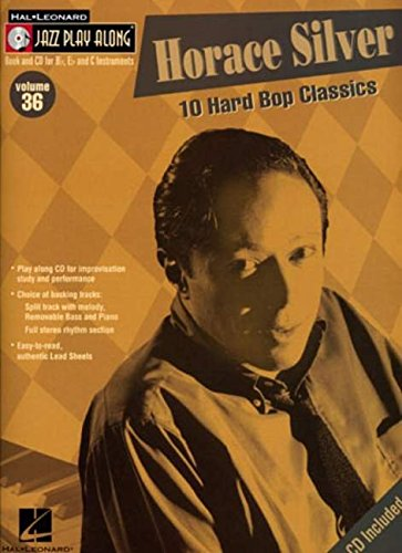 Horace Silver: Jazz Play-Along Volume 36: Hal Leonard Publishing