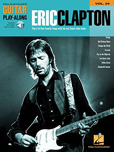 9780634080173: Eric clapton guitare+CD: Guitar Playalong: 24