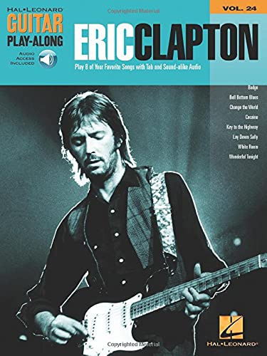 9780634080173: Eric Clapton Guitar Play: Along: 24