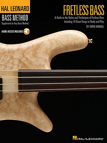 9780634080531: Fretless Bass Hal Leonard's Bass Method Stylistic Supplement Book & Online Audio (Hal Leonard Bass Method)