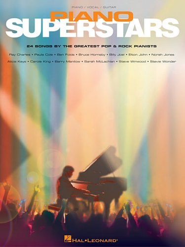 9780634080586: Piano Superstars: 24 Songs by the Greatest Pop And Rock Pianists