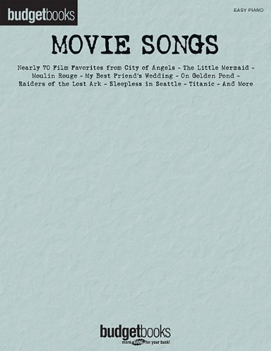 9780634080647: Movie Songs - Budget Books