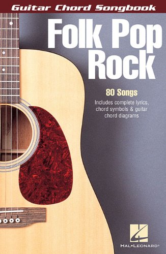 9780634080692: FOLK POP ROCK GUITAR CHORD SONGBOOK 6X9