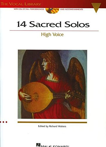 14 Sacred Solos: The Vocal Library High Voice with online audio: Hal Leonard Corp.