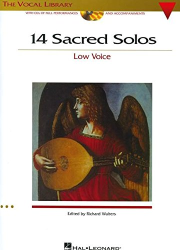 9780634081385: 14 Sacred Solos: The Vocal Library Low Voice (Vocal Collection)