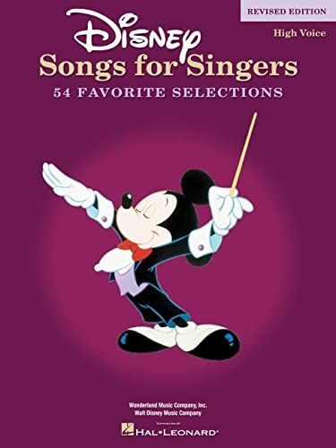 9780634081521: Disney Songs For Singers: High Voice