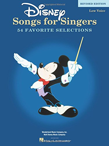 9780634081538: Disney Songs for Singers Edition: Low Voice