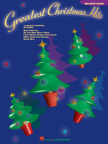 9780634081927: Greatest Christmas Hits Big Note Piano