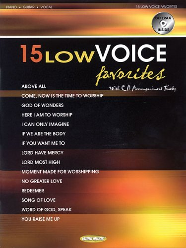 9780634082191: 15 Low Voice Favorites (Book)