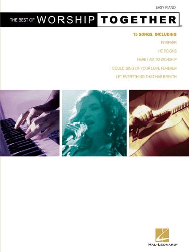 9780634082580: The Best Of Worshiptogether Easy Piano