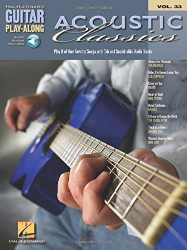 9780634082610: Acoustic Classics: Guitar Play-Along Volume 33 (Guitar Play-Along S)